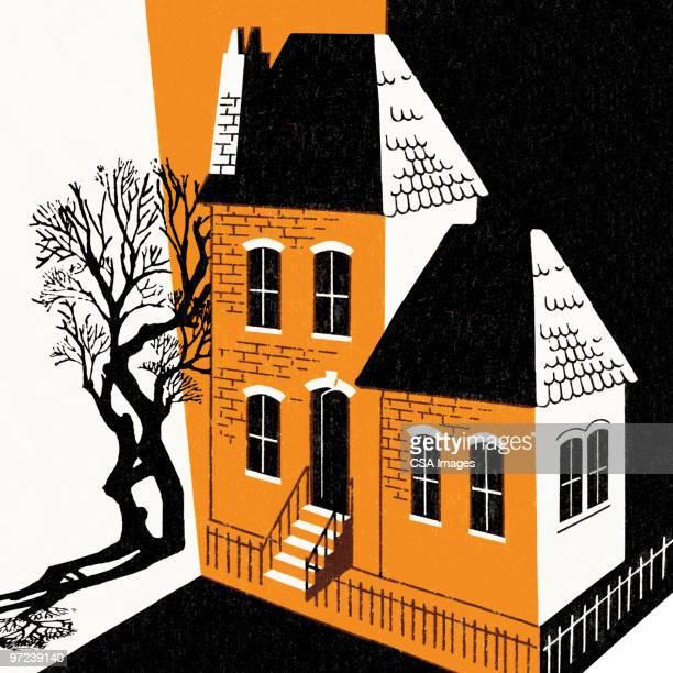 illustrations, cliparts, dessins animés et icônes de halloween scene - horreur