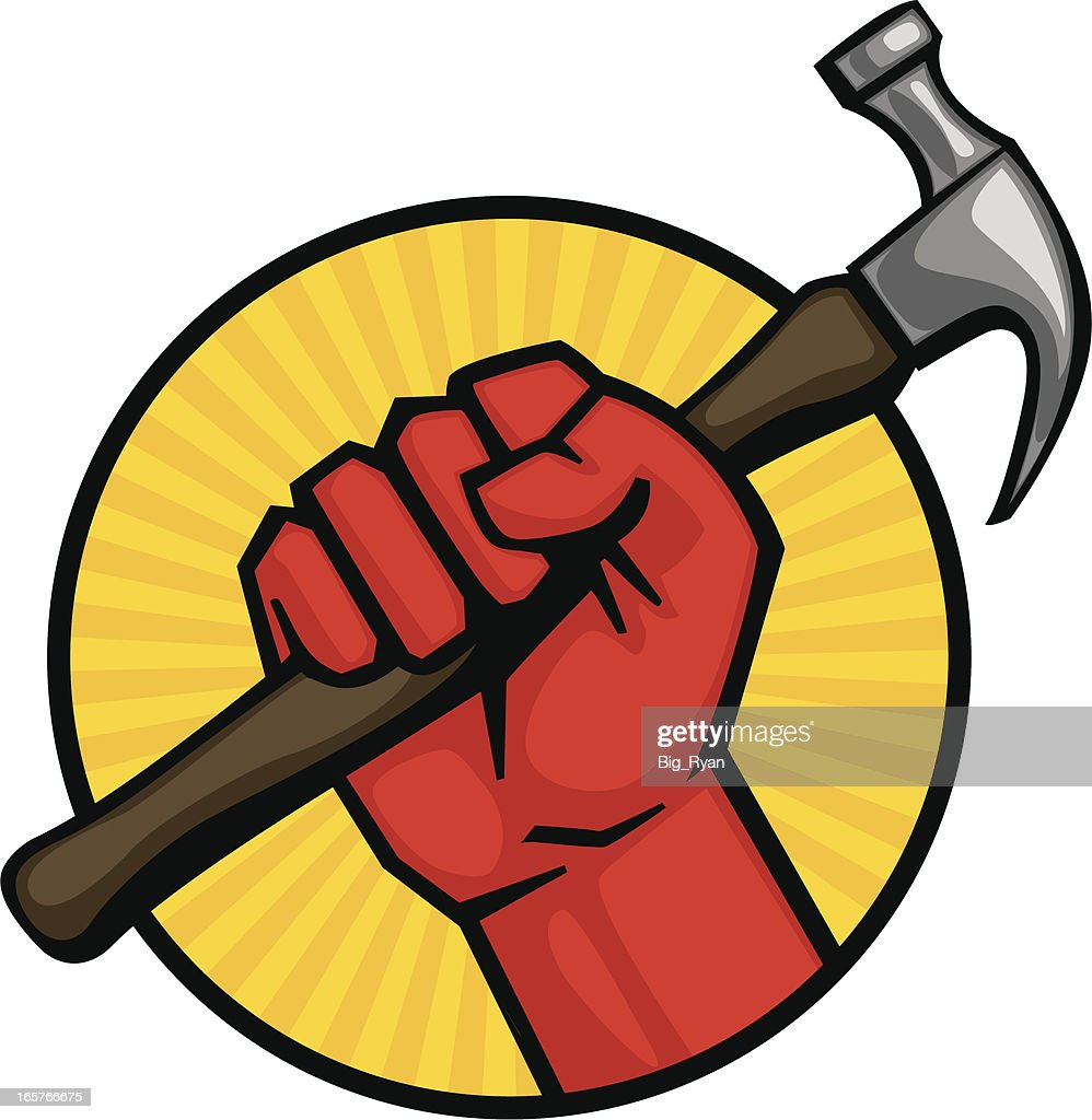Hammer Fist High Res Vector Graphic Getty Images
