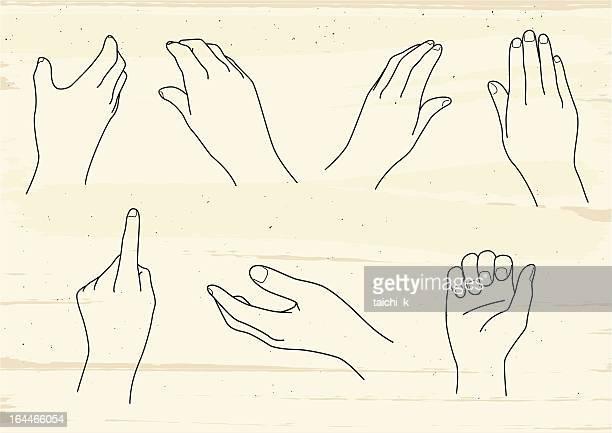 hand image - wrist stock illustrations, clip art, cartoons, & icons
