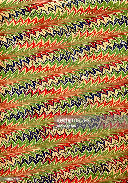 hand marbled red/green - marbled effect stock illustrations
