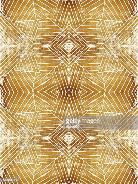 リノリウム ハンドカット 幾何学模様ストライプの背景パターン - リノリウム点のイラスト素材/クリップアート素材/マンガ素材/アイコン素材