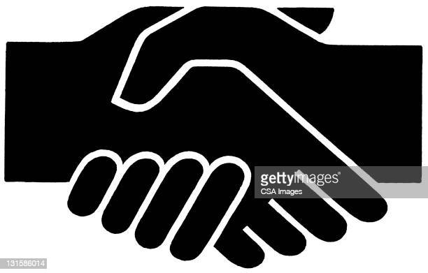 illustrations, cliparts, dessins animés et icônes de handshake - poignée de main