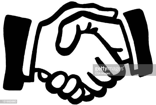handshake - computer icon stock illustrations