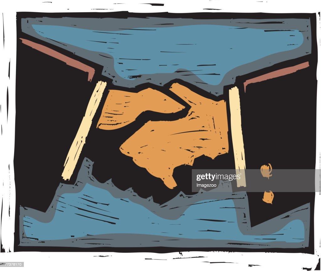 handshake : Illustration