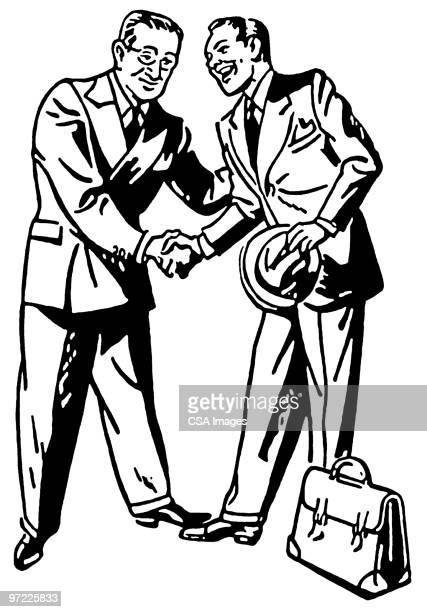illustrations, cliparts, dessins animés et icônes de handshake - ambassadeur rôle social