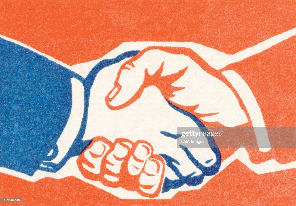Handshake : stock illustration