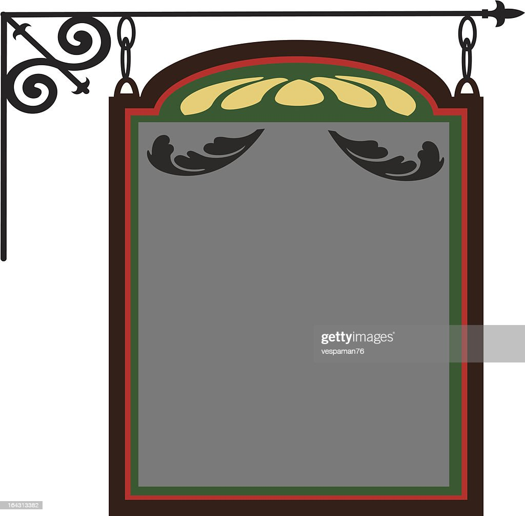 Hanging Pub Sign