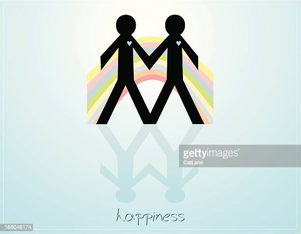 Happiness - Same Sex Couple Males
