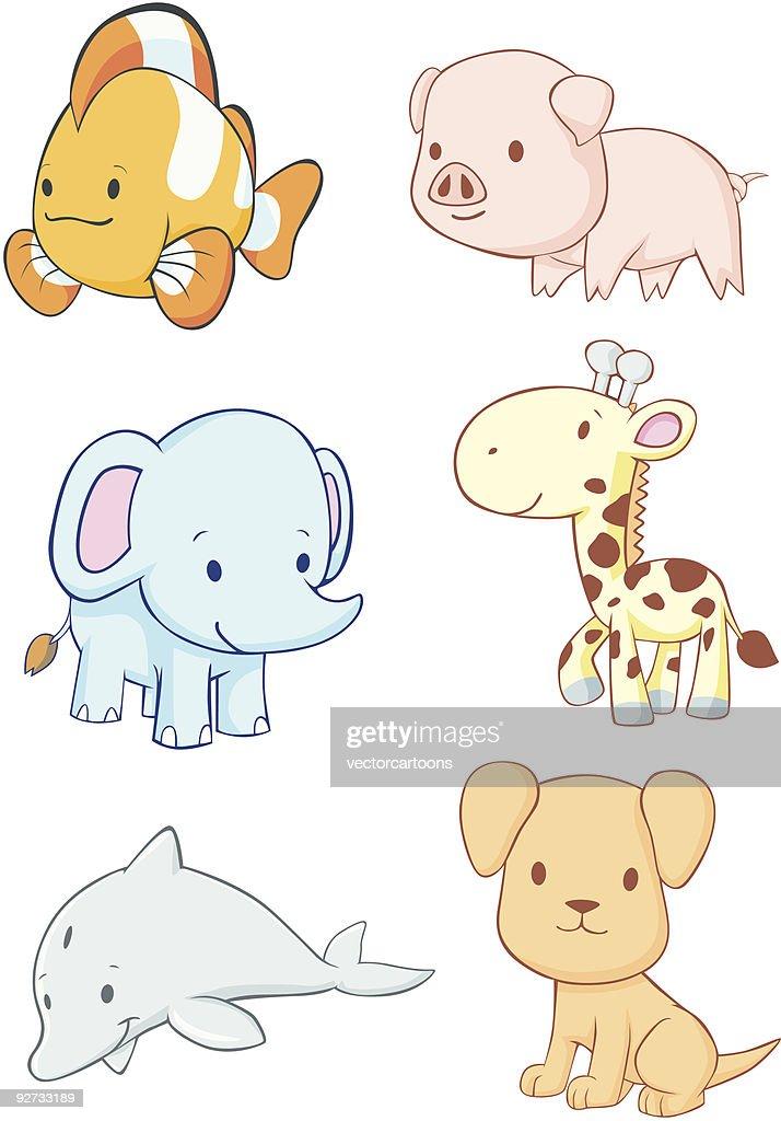 Happy Baby Animals