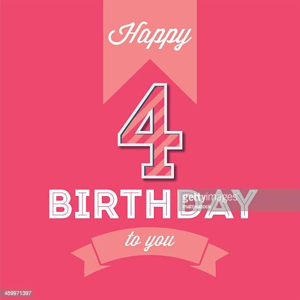 happy birthday card - geburtstagskarte stock-grafiken, -clipart, -cartoons und -symbole