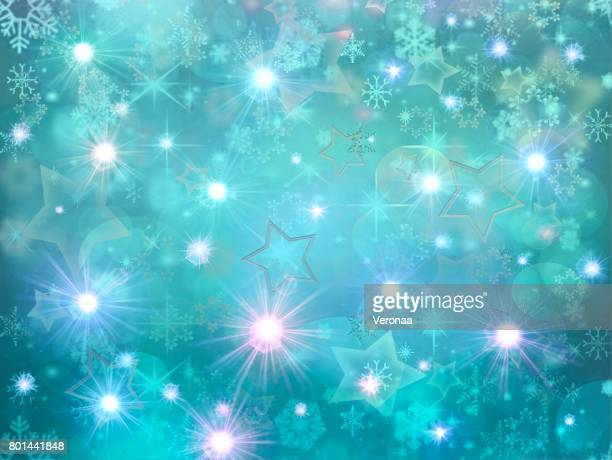 happy blue holidays background - glühend stock illustrations