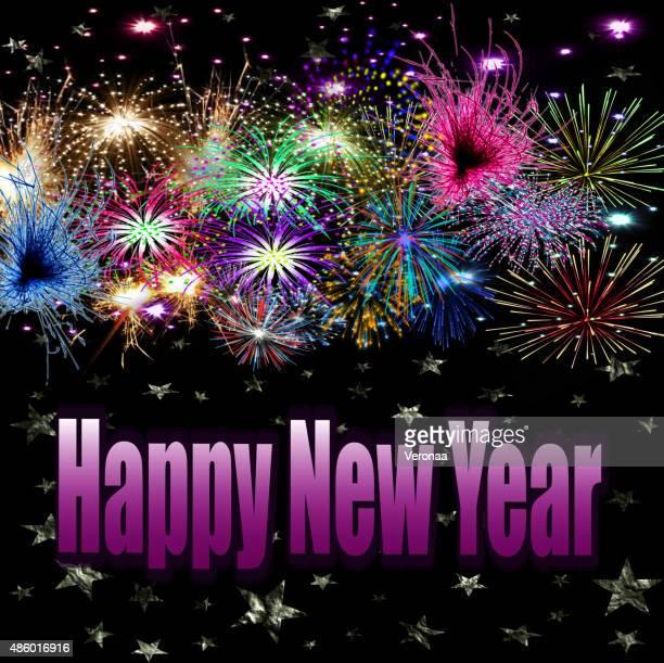 ilustraciones, imágenes clip art, dibujos animados e iconos de stock de ¡feliz año nuevo! - 2015