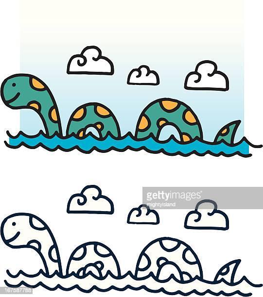 Happy sea monster