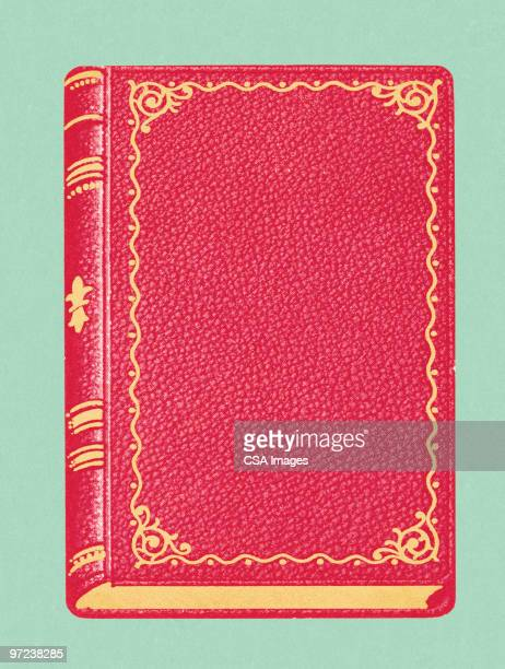 hardcover book - book stock illustrations