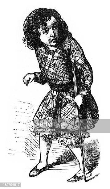 harry's imitation of uncle cudjoe - polio stock illustrations