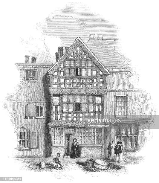 Harvard House in Stratford-upon-Avon, England - 17th Century