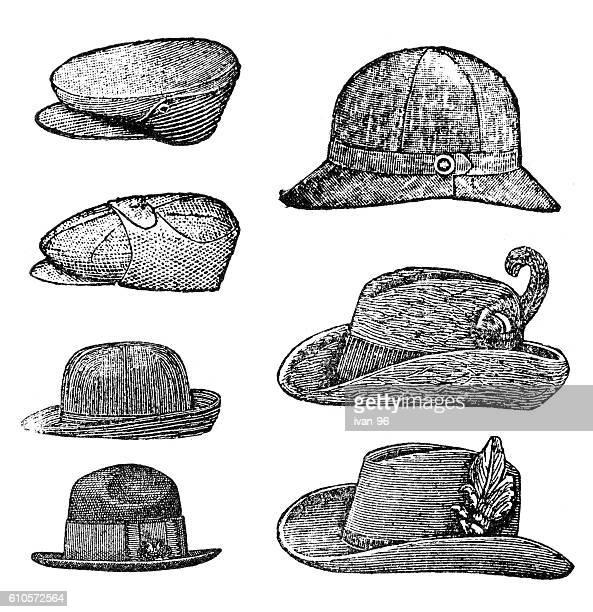 hat - uniform cap stock illustrations