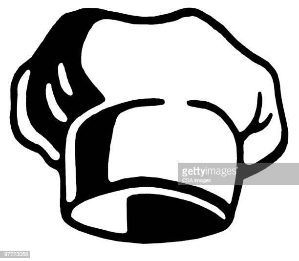hat - chef stock illustrations