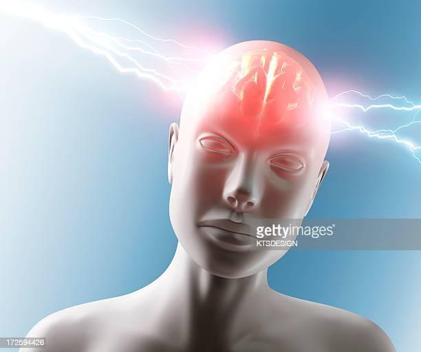Headache, conceptual artwork