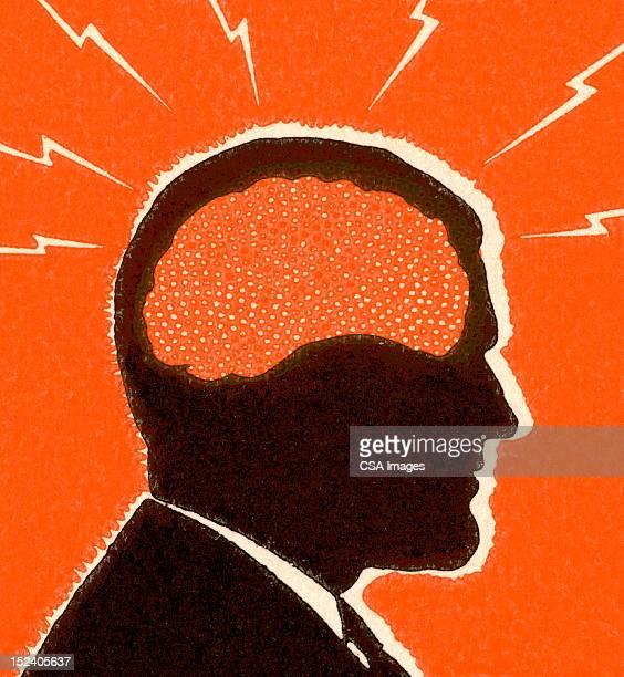 illustrations, cliparts, dessins animés et icônes de mal de tête homme - représentation humaine
