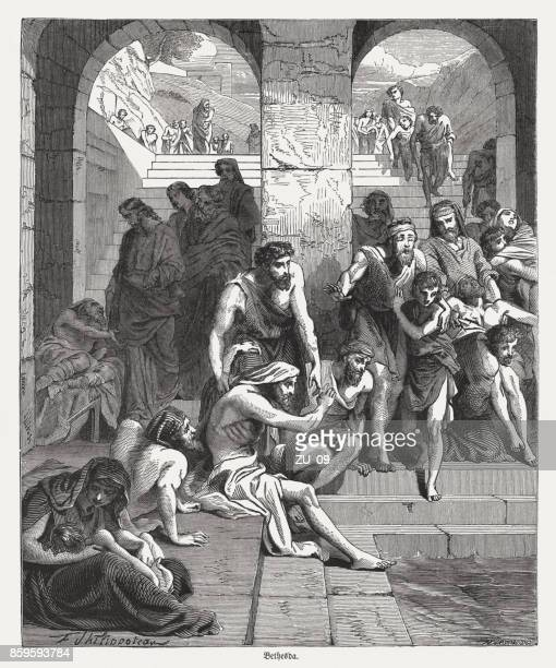 Healing a Paralytic at the Pool of Bethesda (John 5)