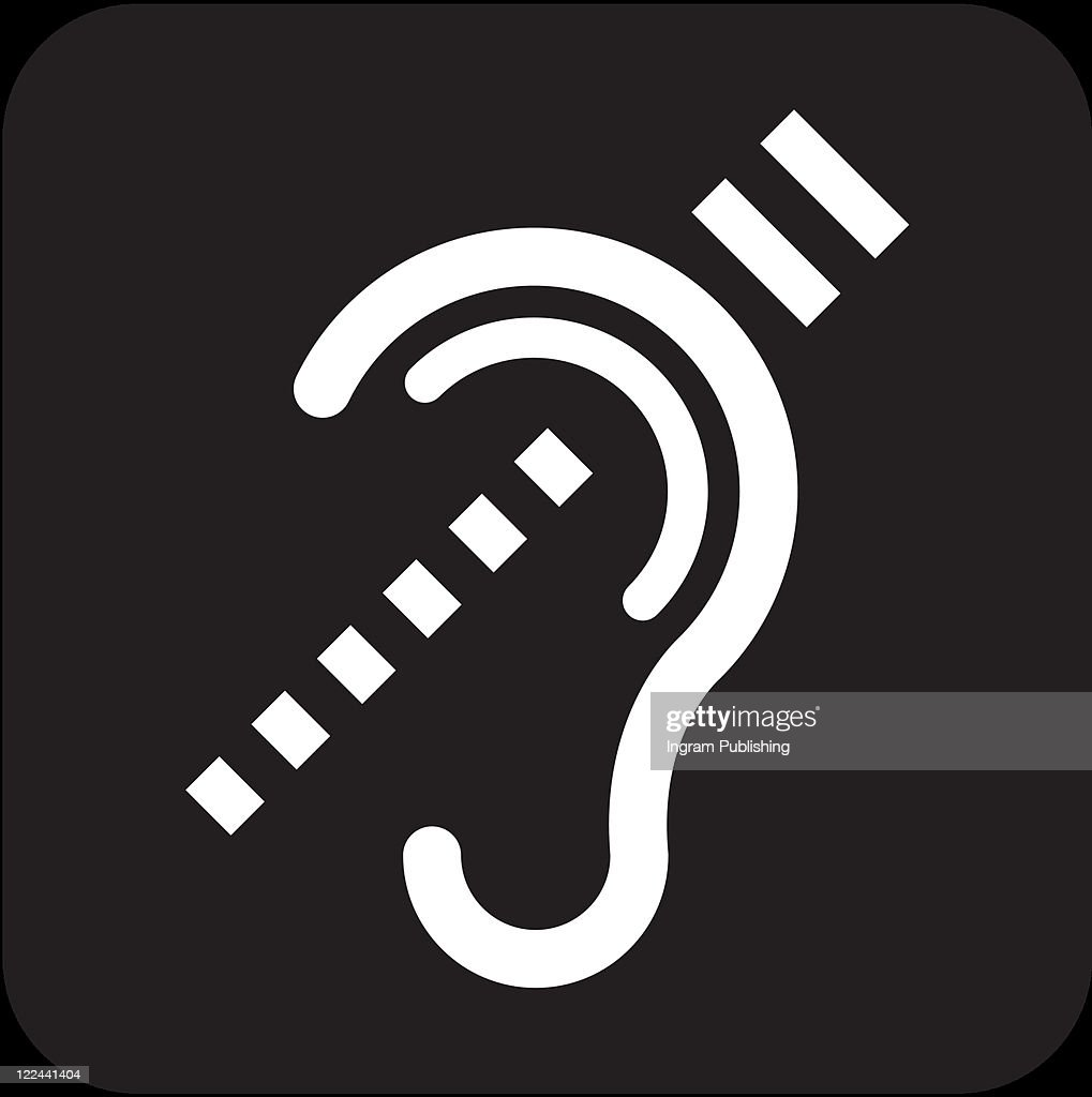 Hearing Impaired Access For Hearing Loss Vector Art Getty Images