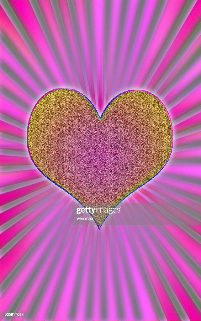 Símbolo do Coração : Ilustração de stock