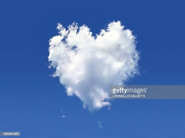 Heart-shaped cloud, artwork