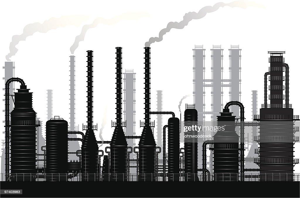 Heavy industry : stock illustration