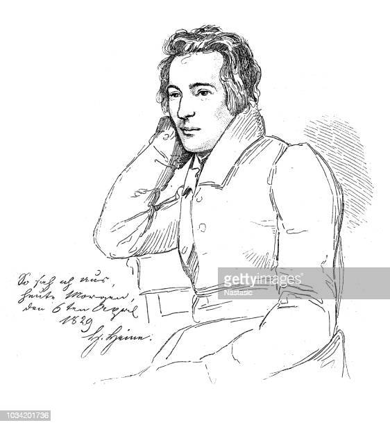 Heinrich Heine (1797-1856), German poet