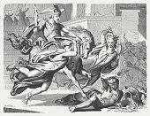 pillaging temple treasure heliodorus is prevented