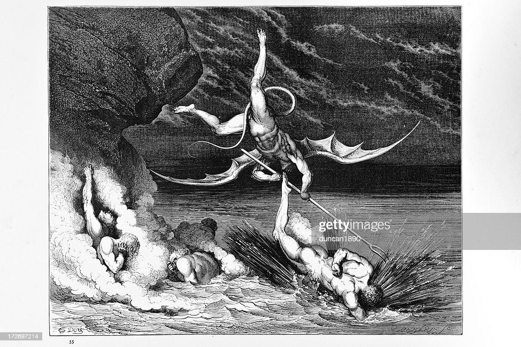 Hell : stock illustration