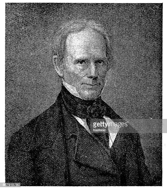 henry clay - former stock illustrations, clip art, cartoons, & icons