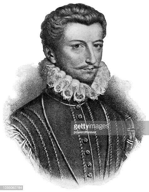 henry i, duke of guise - 16th century - duke stock illustrations