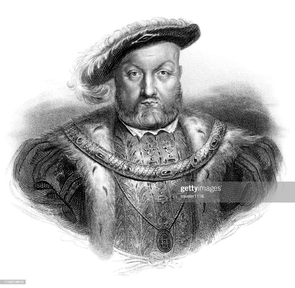 Henry VIII : stock illustration
