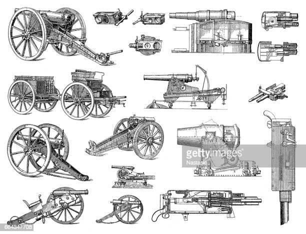 ヘビー砲兵 - キャノン点のイラスト素材/クリップアート素材/マンガ素材/アイコン素材