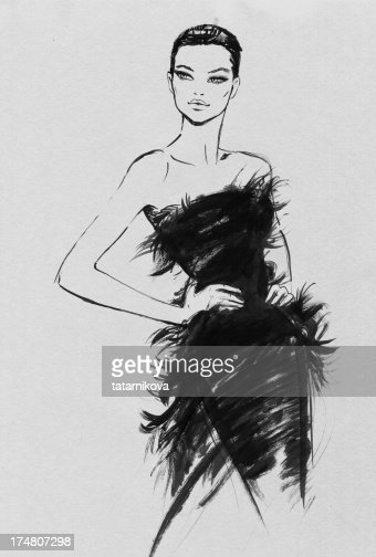 High Fashion High Res Vector Graphic Getty Images