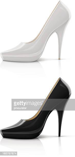 高いヒールの靴