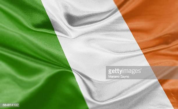 high resolution digital render of ireland flag - politics and government stock illustrations