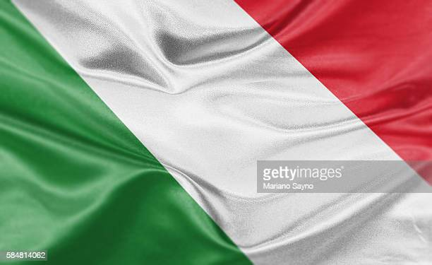 high resolution digital render of italy flag - italy stock illustrations