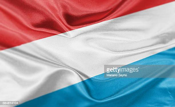 high resolution digital render of luxembourg flag - luxembourg benelux stock illustrations