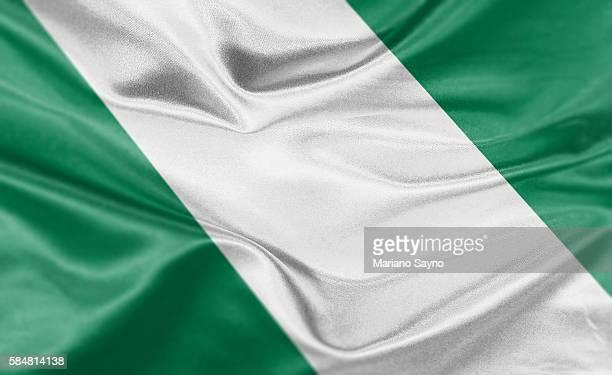 illustrations, cliparts, dessins animés et icônes de high resolution digital render of nigeria flag - nigeria