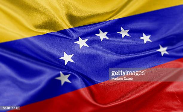 high resolution digital render of venezuela flag - venezuela stock illustrations