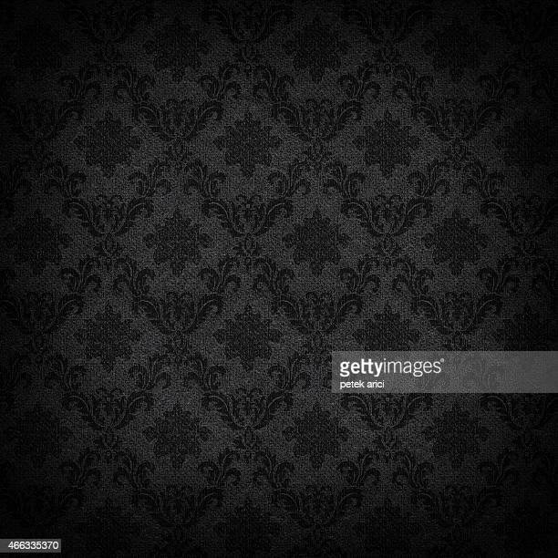 high resolution patterned wallpaper - gothic style stock illustrations, clip art, cartoons, & icons