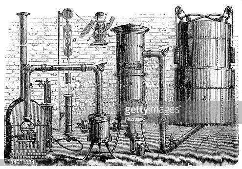 generator oil diagram hirzels oil gas generator high res vector graphic getty images  hirzels oil gas generator high res
