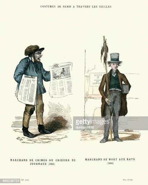 Geschiedenis van Fashion dagbladhandelaar en Rat-catcher