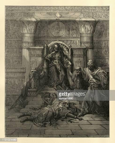 history of the crusades, sultana chegger-eddour and emir saif-eddin - north african ethnicity stock illustrations, clip art, cartoons, & icons