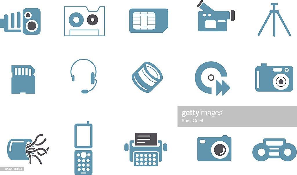 Hi-tech Icon Set