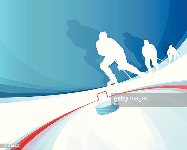 hockey players - hockey stock illustrations, clip art, cartoons, & icons