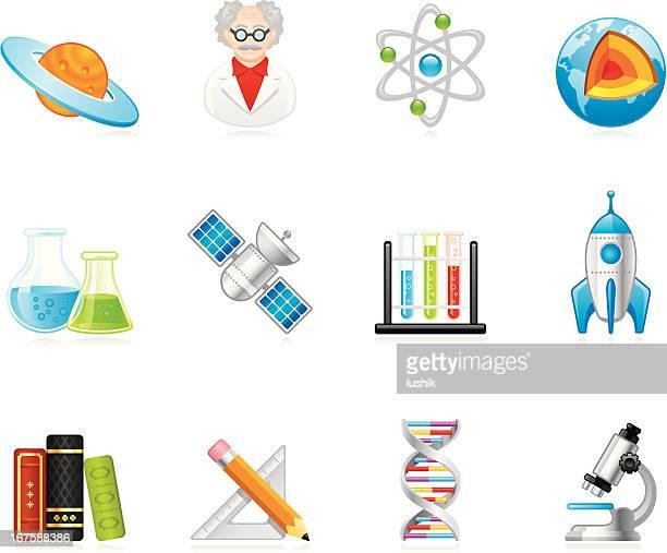 Hola iconos de la ciencia